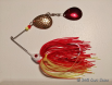 Chartreuse & Red Spinnerbait